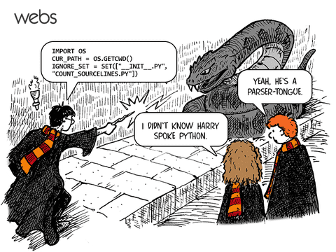 Harry Potter Python Joke