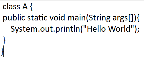 "Print ""Hello, World!"" in Java"