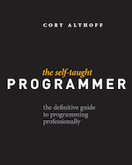 The Self-Taught Programmer book cover