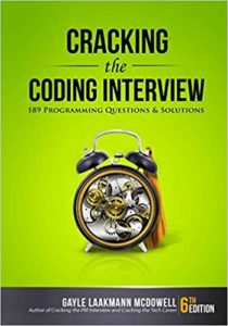 Cracking the Coding Interview Cover