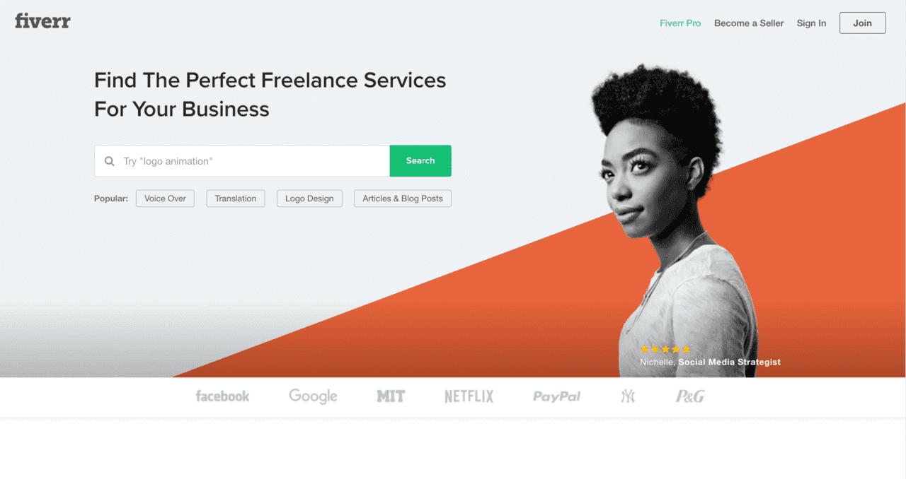 fiverr.com screenshot