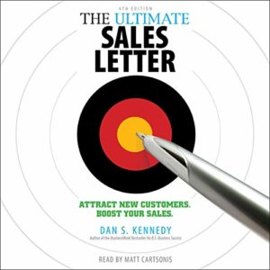 The Ultimate Sales Letter Book Cover by Dan Kennedy