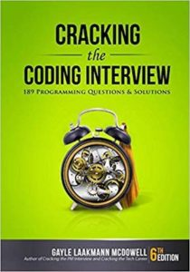 Cracking the Coding Interview book cover
