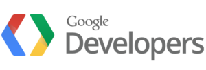 The logo for Google Developers