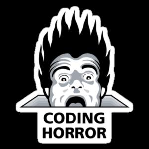 Coding Horror Blog Logo