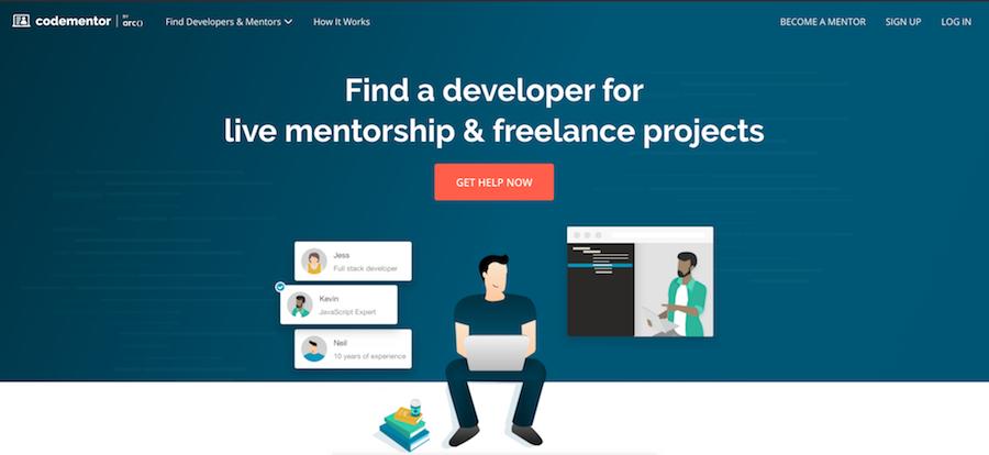 Code Mentor website