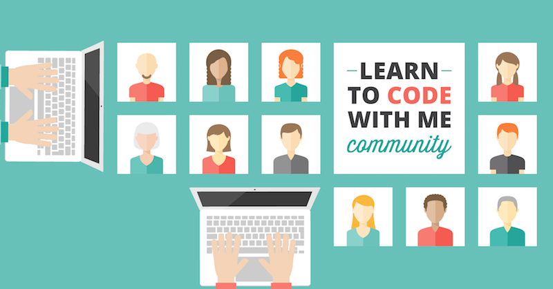 Learn to Code With me banner